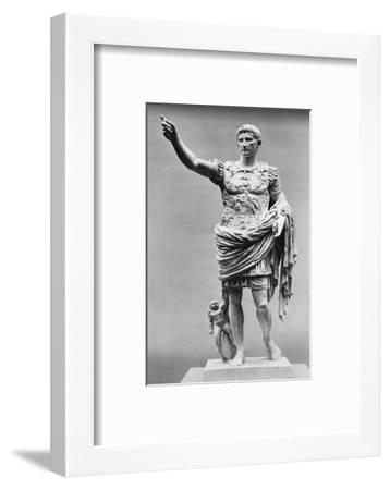 Augustus of Prima Porta Ancient Roman Statue--Framed Photographic Print