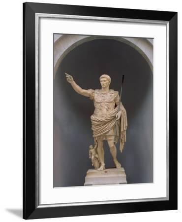 Augustus of Prima Porta, circa 20 BC--Framed Giclee Print