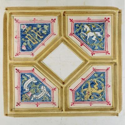 Design for the Ceiling of the House of Commons