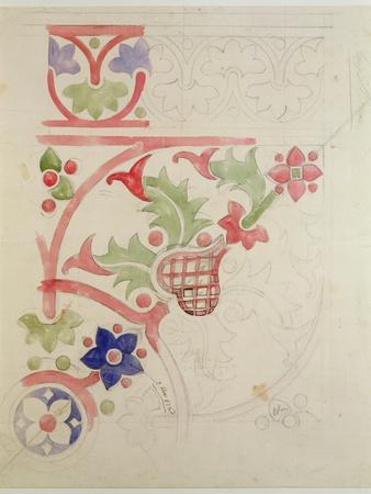 Floral Design for the House of Lords' Library