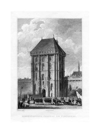 Main Gate, Chateau De Vincennes, Paris, 1830