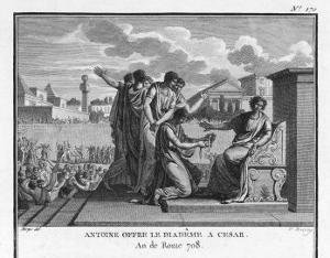 Julius Caesar is Offered the Crown by Marcus Antonius by Augustyn Mirys