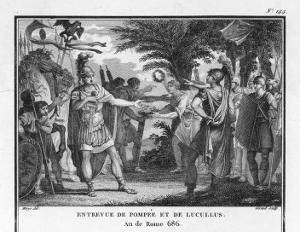 Lucullus is Replaced by Pompeius by Augustyn Mirys