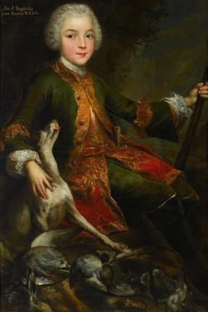 Portrait of Józef Sapieha (1737-179), C. 1740