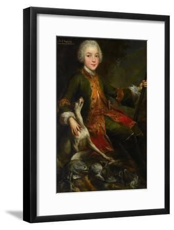 Portrait of Józef Sapieha (1737-179), C. 1740