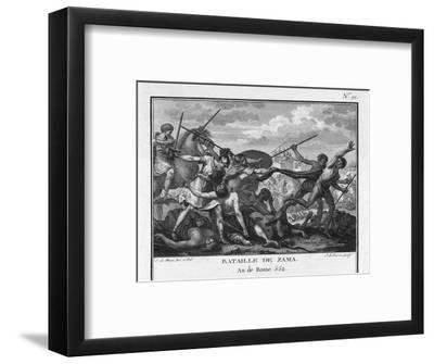 Second Punic War Scipio Africanus Defeats Hannibal at Zama in North Africa