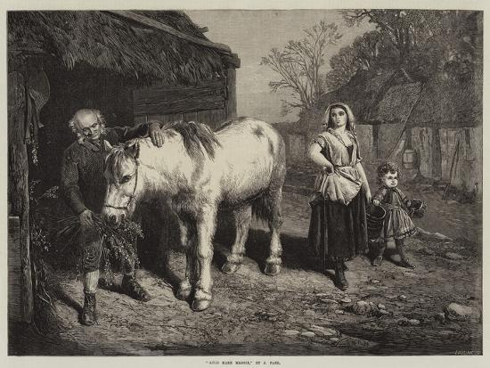 Auld Mare Maggie-John Faed-Giclee Print