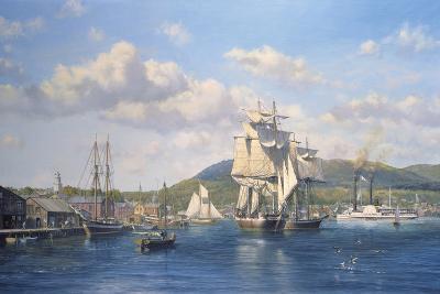 'Aurelia' at Camden, Maine-Roy Cross-Giclee Print