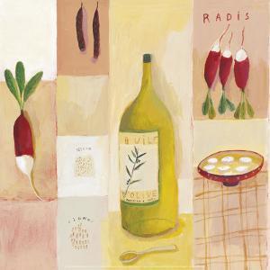 Radishes by Aurelia Fronty
