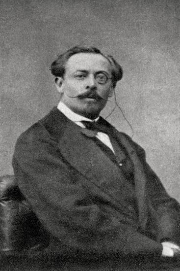 Aurelien Scholl, French Author and Journalist, 1868--Giclee Print