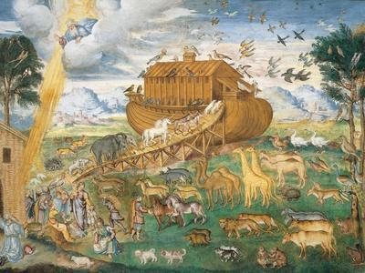 Animals Enter Noah's Ark
