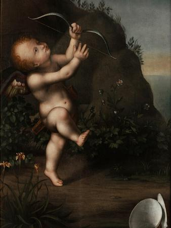 Cupid with a Bow, before 1593