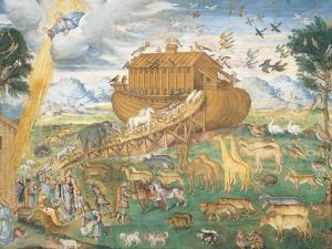 The Animals Enter Noah's Ark by Aurelio Luini