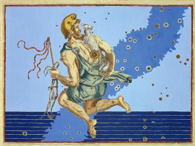 "Auriga, the Constellation of the Northern Hemisphere, from ""Uranometria""-Johann Bayer-Giclee Print"
