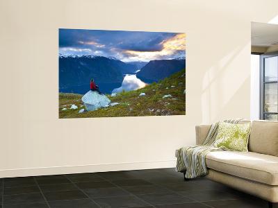 Aurlands Fjord, Aurlands Fjord, Sogn Og Fjordane, Norway-Doug Pearson-Wall Mural