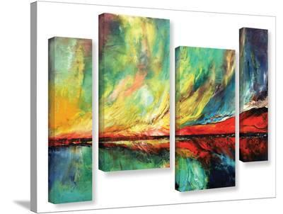 Aurora 4 Piece Gallery Wrapped Canvas Set--Gallery Wrapped Canvas Set
