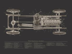 Claxton Blueprint - Noir by Aurora Bell