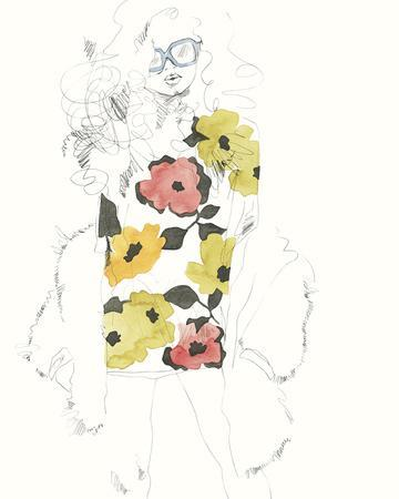 The Girl - Floral