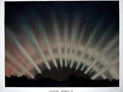 Aurora Borealis, 1872-Science, Industry and Business Library-Photographic Print