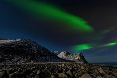 Aurora Borealis in Norway 3-Philippe Sainte-Laudy-Photographic Print