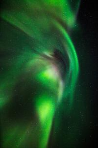 Aurora Borealis or Northern Lights, Lapland,Sweden