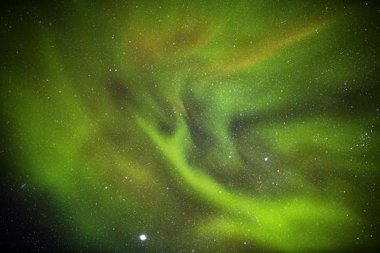 Aurora Borealis or Northern Lights, Lapland, Sweden-Arctic-Images-Photographic Print
