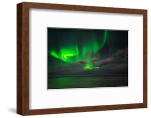 Aurora Borealis or Northern Lights, Reykjavik, Iceland