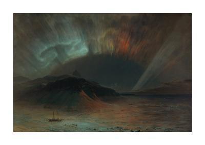 Aurora Borealis-Frederic Edwin Church-Premium Giclee Print