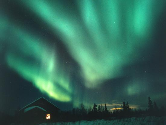 Aurora Borealis-Chris Madeley-Photographic Print