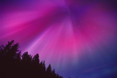 Aurora Corona over Crow Creek Sc Alaska Winter-Design Pics Inc-Photographic Print