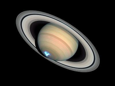 Aurora on Saturn--Photographic Print