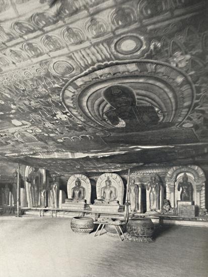 'Aus den Felsentempeln von Dambulla', 1926-Unknown-Photographic Print