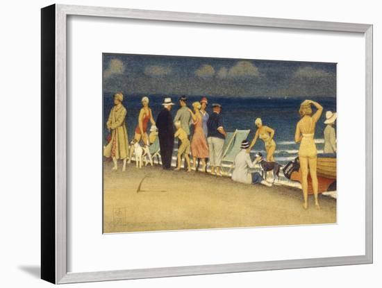 Ausflügler. 1933--Framed Giclee Print