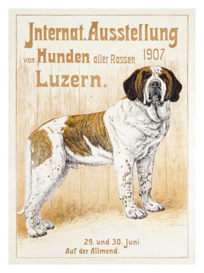 Austellung Von Hunden-H. C. Kaufmenn-Giclee Print