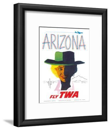 Arizona - Fly TWA (Trans World Airlines) - Cowgirl