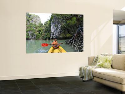 Kayak on Ao Phang Nga