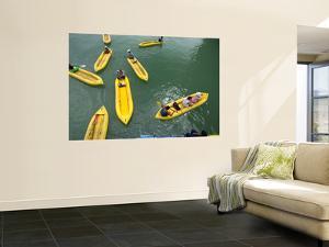 Kayaks on Ao Phang Nga by Austin Bush