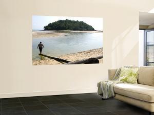 Secluded Beach on Northern Coast by Austin Bush