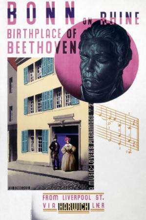 Bonn on Rhine, Birthplace of Beethoven