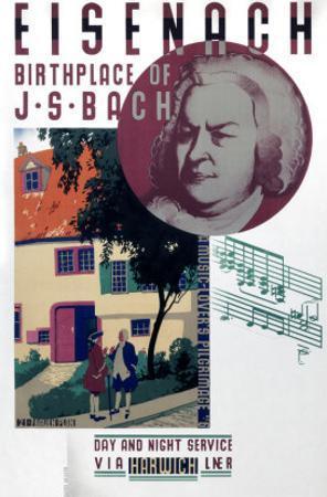Eisenach, Birthplace of Bach