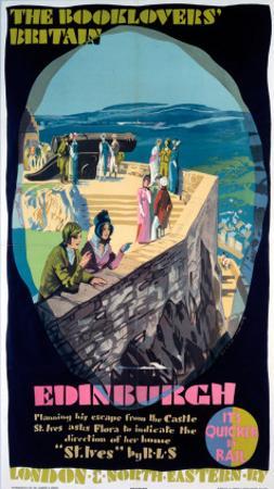 The Booklovers Britain: Edinburgh, LNER, c.1930s