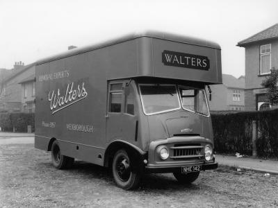 Austin Fe 1957 Removal Van, Belonging to Walters Removals, Mexborough, South Yorkshire, 1957-Michael Walters-Photographic Print