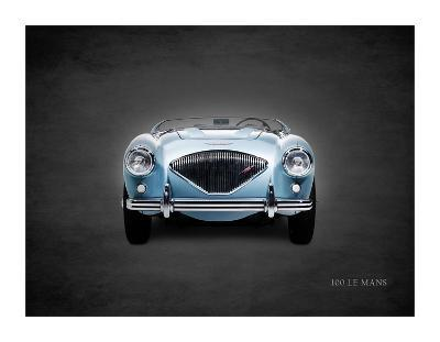 Austin-Healey 100 LeMans 1956-Mark Rogan-Giclee Print