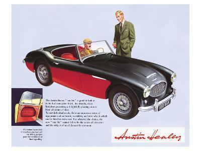 Austin Healey 100 Six--Art Print