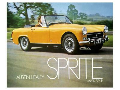 Austin Healey Sprite Mark 4--Art Print