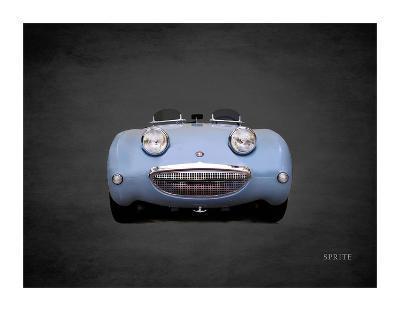 Austin-Healey Sprite Mk1-Mark Rogan-Giclee Print