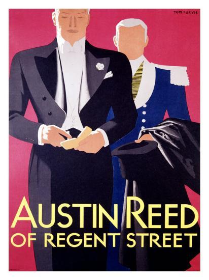 Austin Reed Giclee Print Tom Purvis Art Com