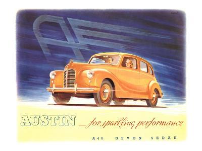 Austin - Sparkling Performance--Art Print