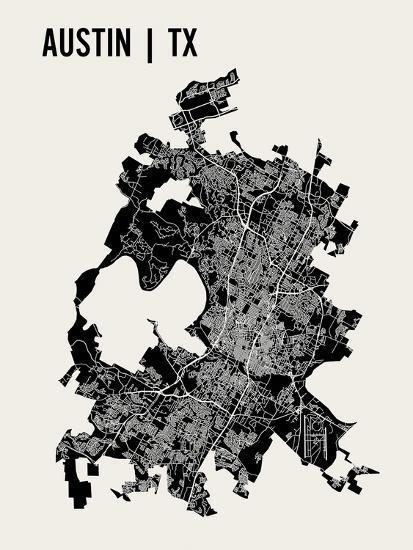 Austin-Mr City Printing-Art Print