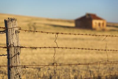 Australia, Burra, Former Copper Mining Town, Abandoned Homestead-Walter Bibikow-Photographic Print